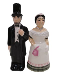 Lincoln & Mary Shaker Set