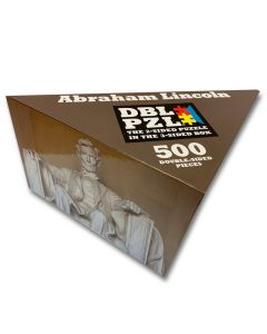 Abraham Lincoln Double Sided Jigsaw Puzzle