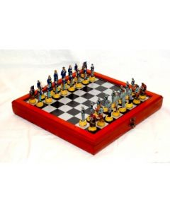 Civil War Chess Box & Pieces