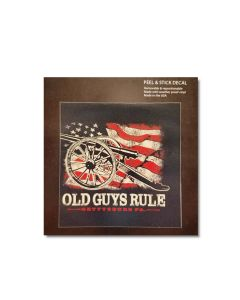 ''Old Guys Rule'' Decal