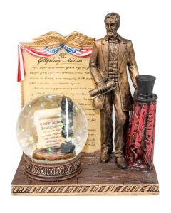 Lincoln Standing Sculpture / Snow Globe
