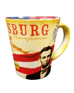 "Vintage Patriotic ""Over All"" Mug"