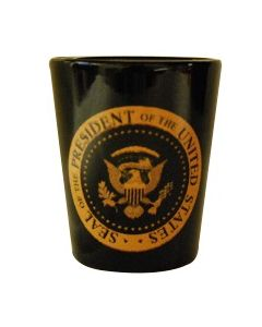 Presidential Seal Shot Glass
