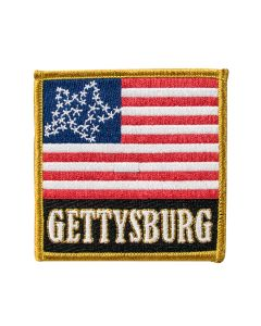 Gettysburg 34 Star Union Flag Patch
