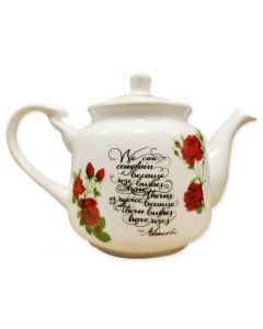 Lincoln Rose Teapot