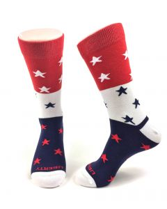 Liberty Stars Patriotic Socks