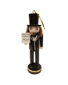Lincoln Nutcracker Ornament