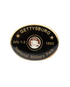 National Military Park Oval Lapel Pin